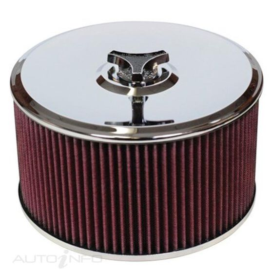 A/FORCE COTTON FILTER 9IN DIA ASSY HOLLEY 5IN H