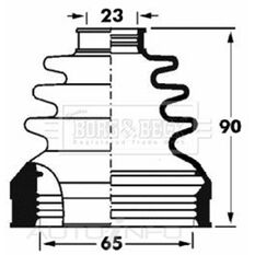 FIAT GRANDE PUNTO CV JOINT BOOT KIT, , scaau_hi-res