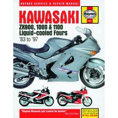 KAWASAKI ZX900, 1000 & 1100 LIQUID-COOLED FOURS 1983 - 1997, , scaau_hi-res