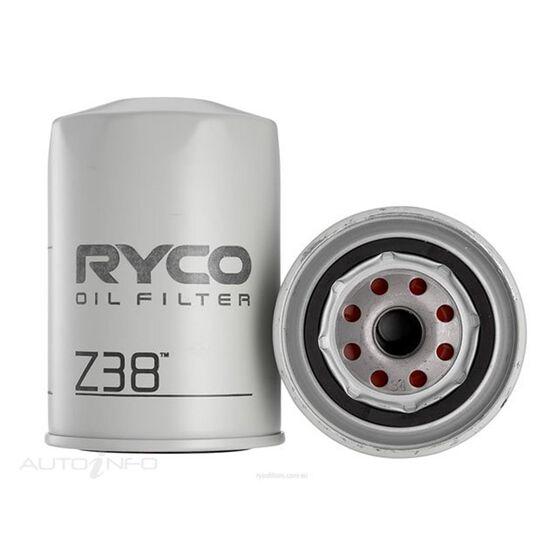 RYCO OIL FILTER - Z38, , scaau_hi-res