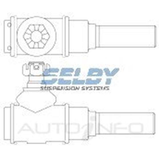 L/CRUISER 60 SERIES LH RELAY ROD END (FRONT), , scaau_hi-res