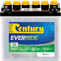 12N24-3 Century Battery