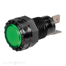 PILOT LED 12V GREEN BL, , scaau_hi-res