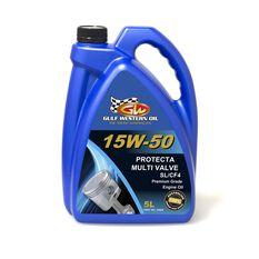 CARTON QTY 4 PROTECTA MULTI VALVE 15W-50 SL/CF4 5L, , scaau_hi-res
