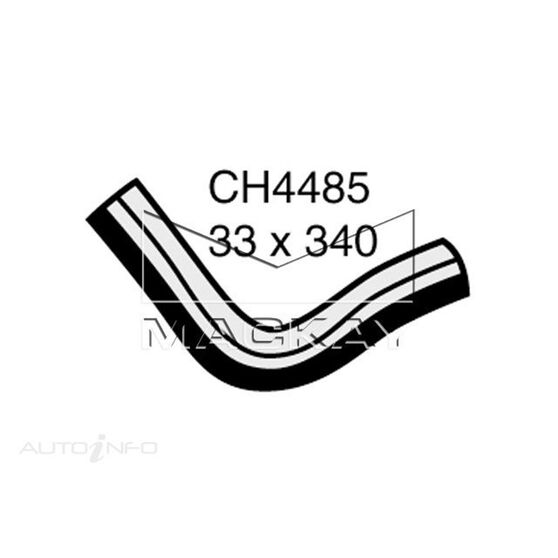 RADIATOR LOWER HOSE  - TOYOTA HILUX RN30R - 1.6L I4  PETROL - MANUAL & AUTO