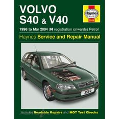 VOLVO S40 & V40 PETROL (1996 - 2004), , scaau_hi-res