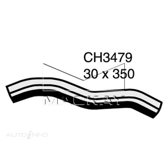 Radiator Lower Hose  - HOLDEN RODEO TF - 2.2L I4  PETROL - Manual & Auto, , scaau_hi-res