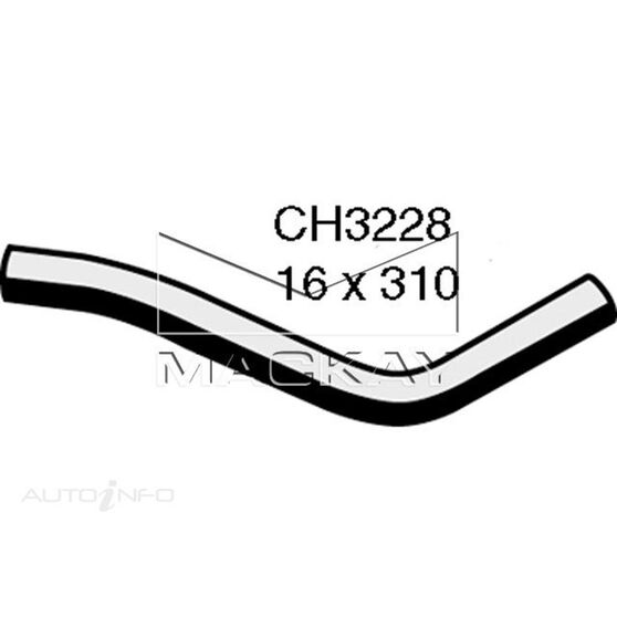 Heater Hose Rear - TOYOTA LANDCRUISER HJ60R - 4.0L I6  DIESEL - Manual & Auto, , scaau_hi-res
