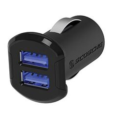 REVOLT DUAL USB CAR CHARGER FOR MOBILE DEVICES