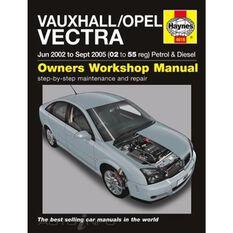 VAUXHALL/OPEL VECTRA PETROL & DIESEL (2002 - 2005)