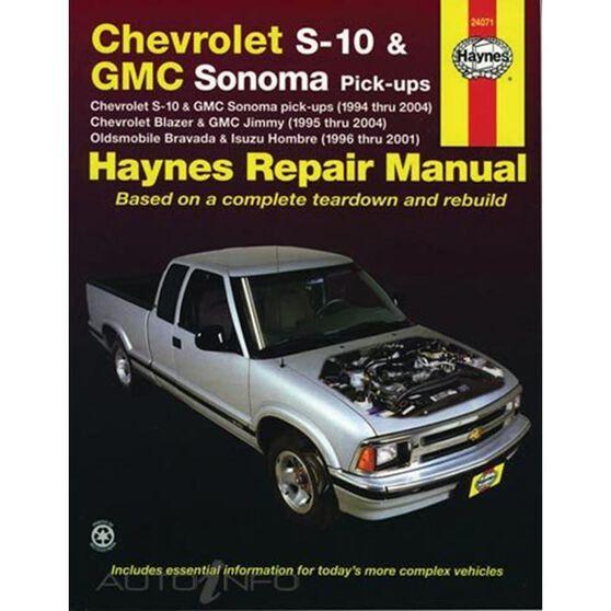 CHEVROLET S-10 (94-04) & GMC ENVOY (98-01), , scaau_hi-res