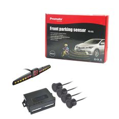 FRONT PARKING SENSOR WITH LED DISPLAY AND SMART BULL-BAR RECOGNITION FUNCTION-PROMATA