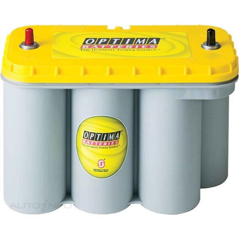 optima yellow top agm battery d31a 900cca 75ah mf 12v. Black Bedroom Furniture Sets. Home Design Ideas