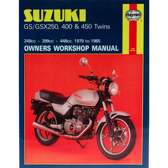 SUZUKI GS/GSX250, 400 & 450 TWINS 1979 - 1985, , scaau_hi-res