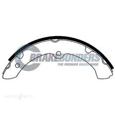 Brake Shoes - Toyota 295mm