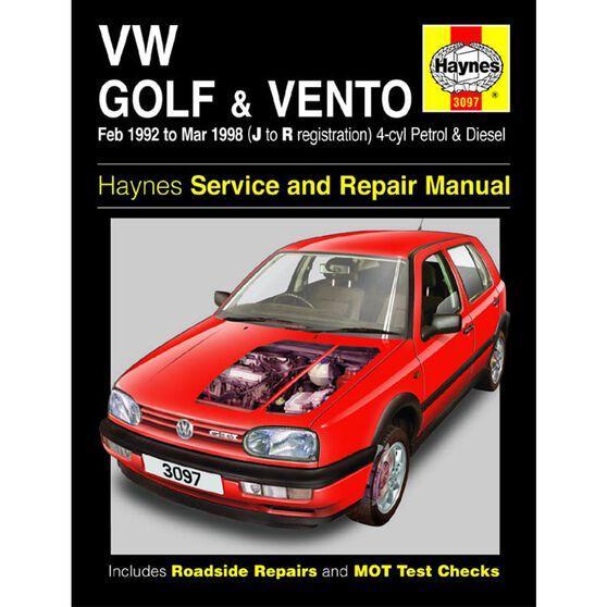 VW GOLF & VENTO PETROL & DIESEL (1992-1998), , scaau_hi-res