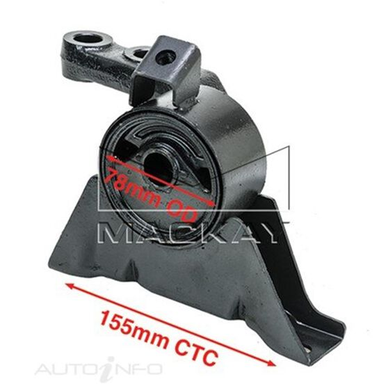 Engine Mount Right - FORD LASER KN, KQ - 1.6L I4  PETROL - Manual & Auto, , scaau_hi-res