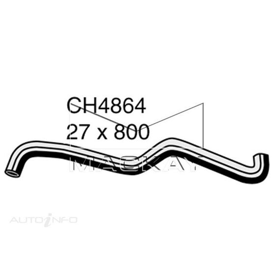 Radiator Upper Hose  - SUBARU TRIBECA . - 3.0L F6  PETROL - Manual & Auto, , scaau_hi-res