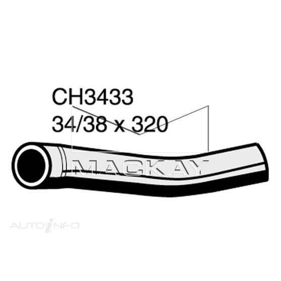 Radiator Upper Hose  - LAND ROVER DISCOVERY SERIES 1 - 2.5L I4 Turbo DIESEL - Manual & Auto, , scaau_hi-res