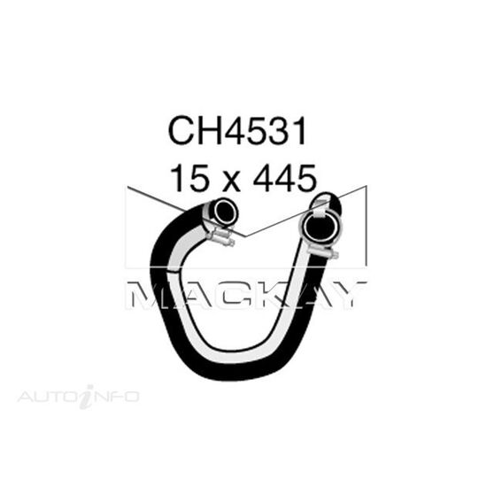 Engine Oil Cooler - Coolant Hose FORD Territory SY 4.0 Litre (6Cyl) Inlet (tubro)*, , scaau_hi-res