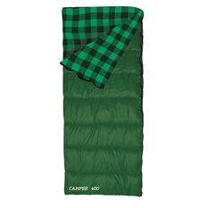 Roman Camper 400 Sleeping Bag - Adult, Green, ROM1135