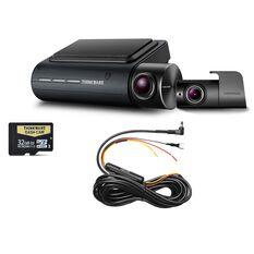2K QHD FRONT DASH CAM + FULL HD REAR CAM + HWC + 32GB MICRO SD, , scaau_hi-res