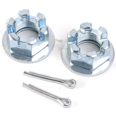 NUT, PIN & WASHER AXLE KIT