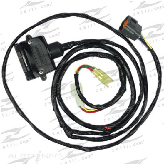 STA Tow Bar Wiring Harness - UNT251 Tow Bar Wiring Harness on tow license plate bracket, tow cable, tow lights,