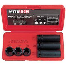 METRINCH 1/2IN DR 6 PIECE WHEEL NUT SET