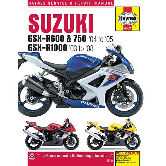 SUZUKI GSX-R600/750 2004 - 2005 & GSX-R1000 2003 - 2008, , scaau_hi-res