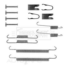 TOYOTA AVENSIS 09/97-03/03 FITTING KIT - SHOES, , scaau_hi-res