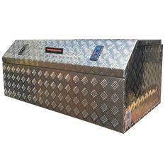 THUNDERBOX BREAD ALUMINIUM CHECKERPLATE TOOLBOX, , scaau_hi-res