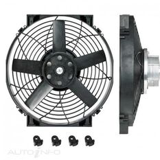 """14"""" BRUSHLESS THERMATIC FAN (12V)"""