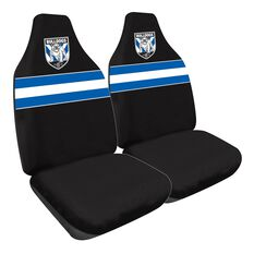 NRL BULLDOGS SEAT COVER SIZE 60