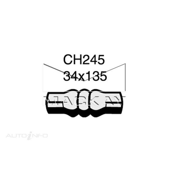Radiator Upper Hose  - TRIUMPH HERALD . - 1.1L I4  PETROL - Manual & Auto, , scaau_hi-res