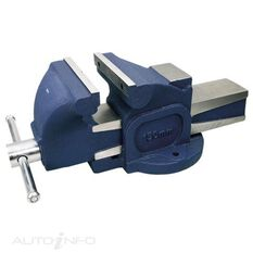 TOLEDO BENCH VICE - FIXED BASE 150MM, , scaau_hi-res
