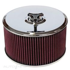 A/FORCE COTTON FILTER 9IN DIA ASSY HOLLEY 5IN H, , scaau_hi-res