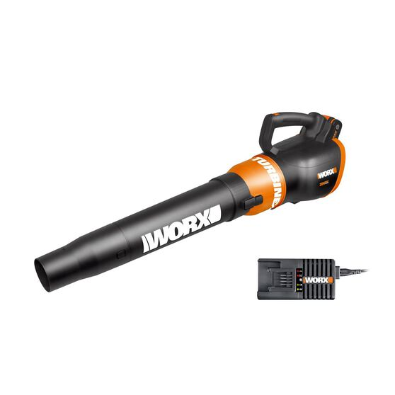 WORX 20V MAX WORXAIR CORDLESS TURBINE BLOWER KIT WITH 4.0AH BATTERY & CHARGER, , scaau_hi-res