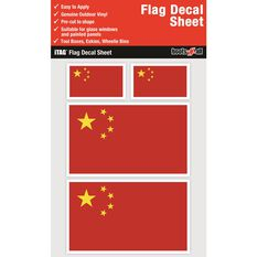 CHINA FLAG DECALS SHEET, , scaau_hi-res