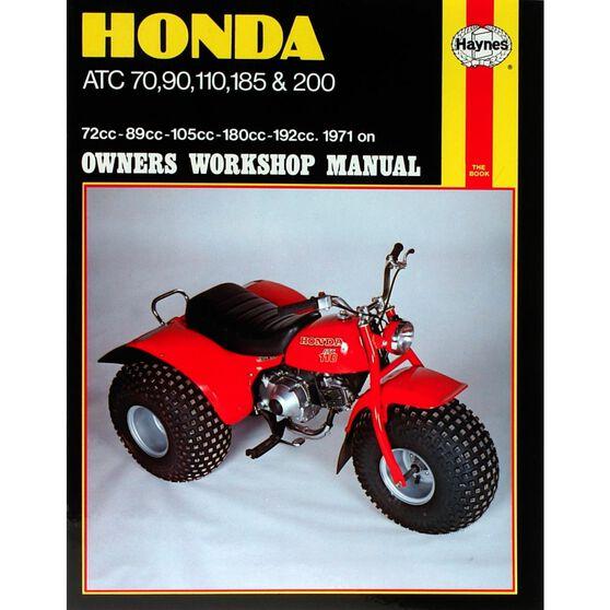 HONDA ATC70, 90, 110, 185 & 200 1971 - 1985, , scaau_hi-res