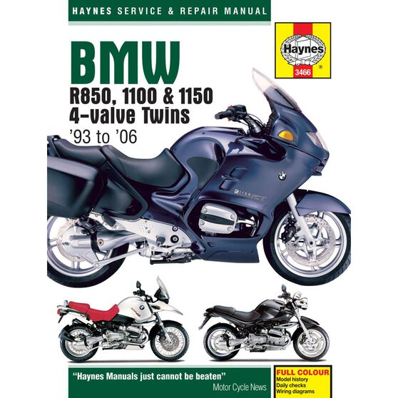 BMW R850, 1100 & 1150 4-VALVE TWINS 1993 - 2006, , scaau_hi-res