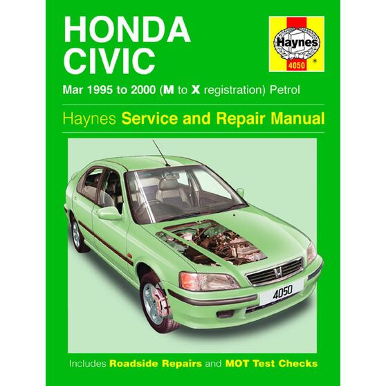 HONDA CIVIC PETROL (1995 - 2000), , scaau_hi-res