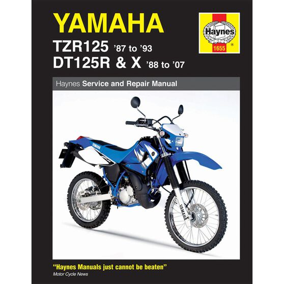 YAMAHA TZR125 1987 - 1993) AND DT125R/X 1988 - 2007, , scaau_hi-res