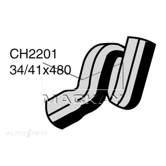 Radiator Upper Hose  - HOLDEN ASTRA TR - 1.6L I4  PETROL - Manual & Auto, , scaau_hi-res