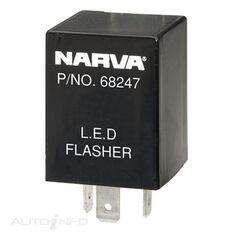 ELEC. FLASHER 12V 3PIN LED T2, , scaau_hi-res