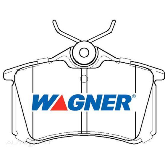 Wagner Brake Pad [ Audi/Citroen/Honda/Peugeot/Renault/Seat & VW 1980-2012 R ], , scaau_hi-res
