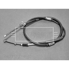 TOYOTA STARLET 1.3 96-99 BRAKE CABLE- LH REAR, , scaau_hi-res
