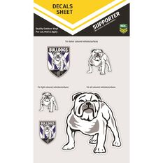 BULLDOGS ITAG DECALS SHEET (CLEAR VINYL)