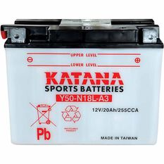 KATANA MOTORCYCLE BATTERY - Y50-N18L-A3, , scaau_hi-res