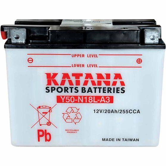 KATANA MOTORCYCLE BATTERY - Y50-N18L-A3, , scaau_hi-res
